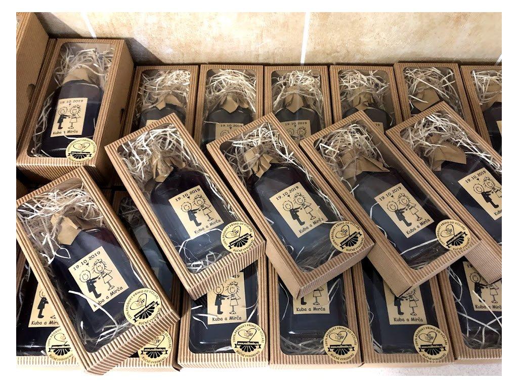 Medovina 200ml svatební v krabičce