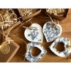 Svatební levandulový vosk srdíčko