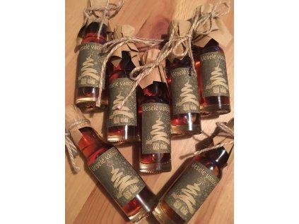 Vánoční mini medovinka kulatá