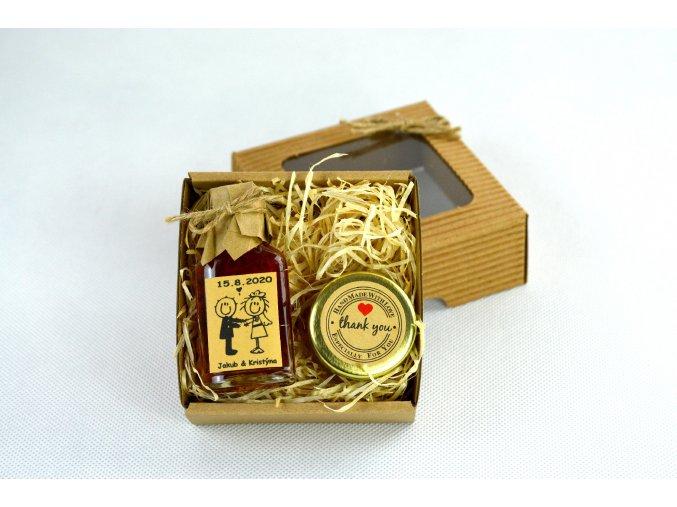 Medová mini sada vánoční