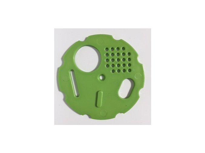 Česnový uzávěr 8 cm - zelený