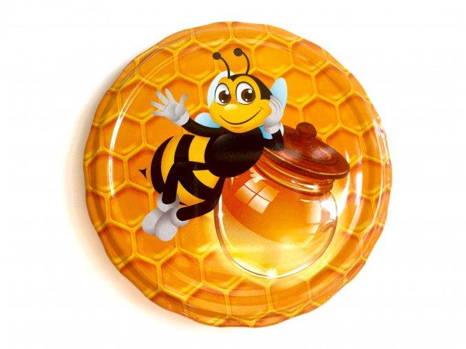 Víčko včelka se soudkem TO 82