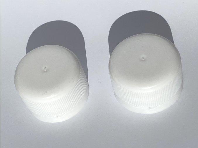 Plastový uzávěr 28 - bílý