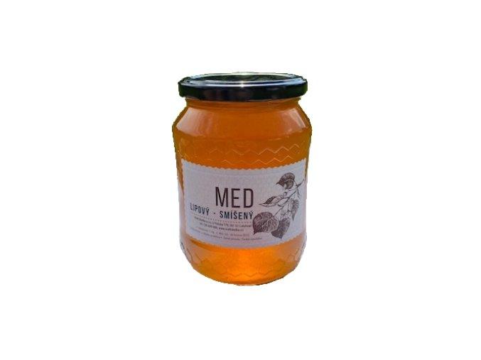 Med lipový smíšený