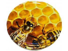 Víčko dvě včely TO 82 - Karton
