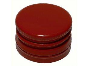 Uzávěr na láhve šroubovací 28x18 červený - od 700 ks doprava zdarma