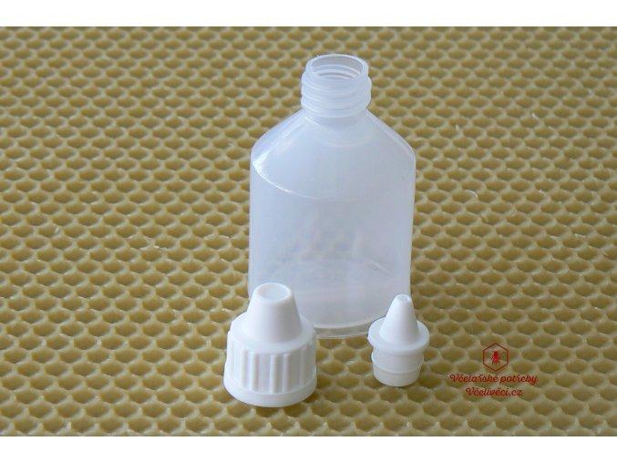 Lahvička 25 ml s kapátkem plast