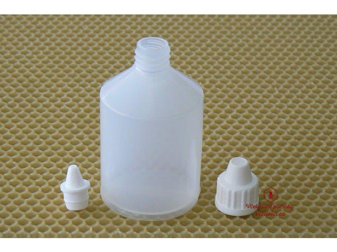 Lahvička 60 ml s kapátkem plast