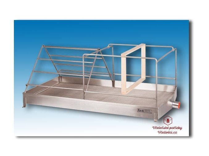 Odvíčkovací vanička se síty a odtokem 500 x 900 x 70