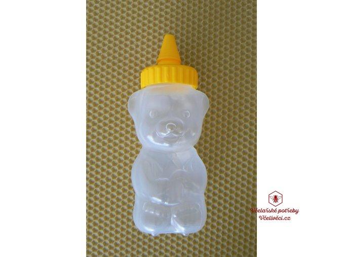 Medvídek plastový na med