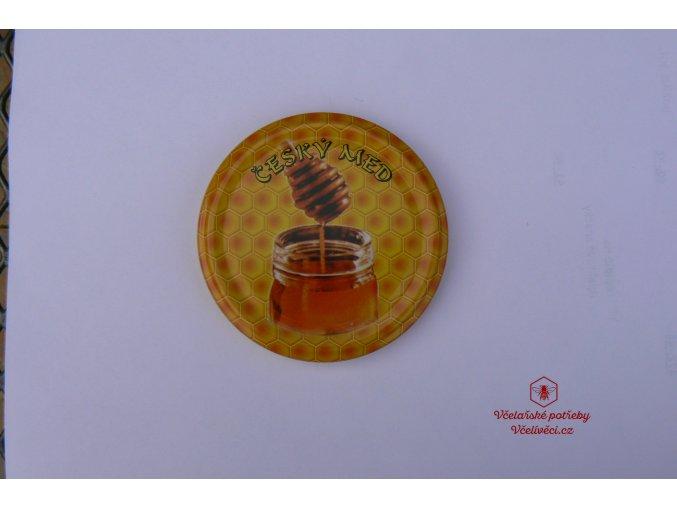 Víčko malované TO 82 český med, medovka