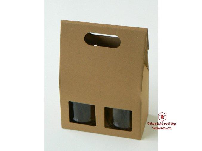 Dárková krabice na med 2x1kg