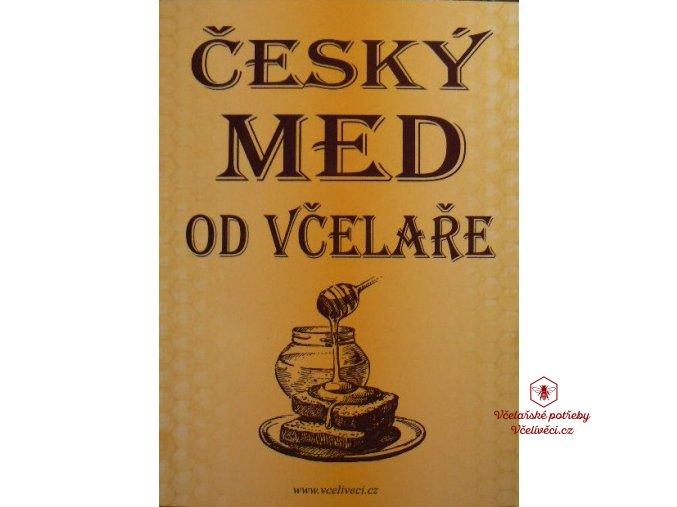 """Cedule """"Český med od včelaře"""""""