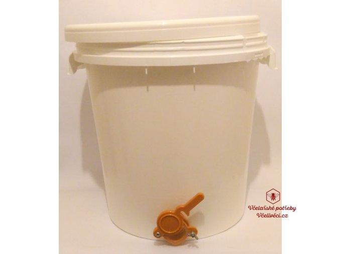 Stáčecí nádoba na med plast