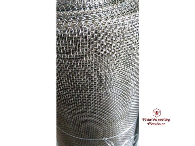 Kovová tkanina nerezová, oko 2,5mm