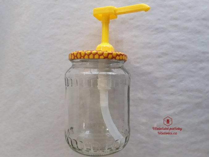 Pumpička na med-dávkovač