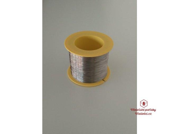Včelařský drátek pocín 0,4mm 250 gr