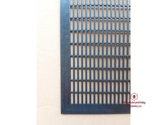 Mateří mřížka černá,plastová 420x420