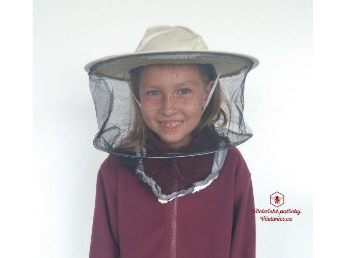 Dětský včelařský klobouk
