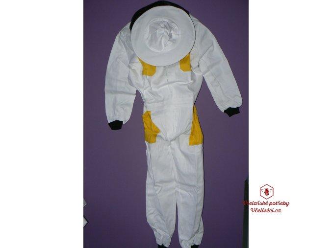 Včelařská kombinéza bílo/žlutá velikost: 48-68