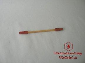 Lžička na sběr mateří kašičky-dřevo+guma