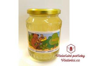 Včelí med květový akátový 950 gr.