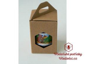 Dárková krabice na med 1x1kg