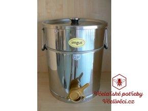 Stáčecí a dekantační nádoba nerez na 35 kg medu