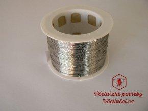 Včelařský drátek nerez Ø 0,3mm 250gr-5kg