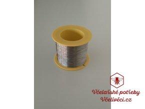Včelařský drátek nerez Ø 0,4mm 250gr-5kg