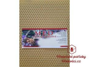 Samolepící etiketa Med smíšený květový