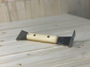Rozpěrák nerez s dřevěnou rukojetí