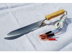 Elektrický odvíčkovací nůž 12V nerez 23/28cm