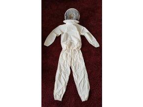 Kostým včelařský (bunda s kuklou + kalhoty)