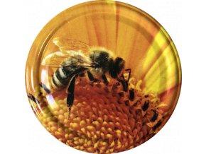 Včelka na slunečnici
