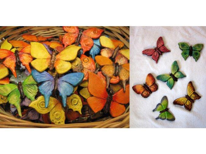 Motýl závěsný