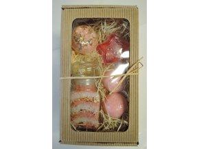 Balíček v dárkové krabičce střední