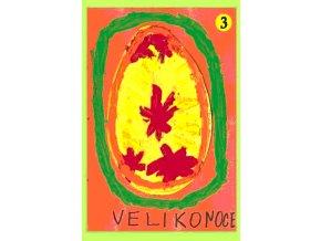 Velikonoční pohlednice Kraslice