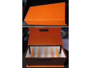 Krabička - vizitkovník