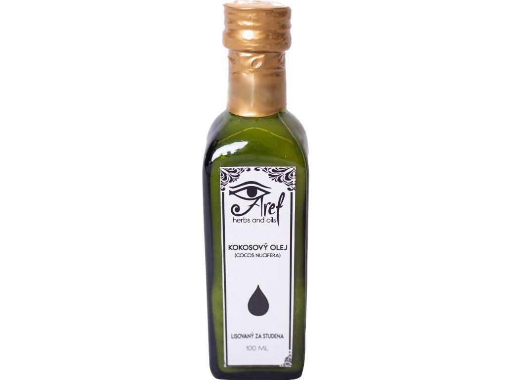 Kokosový olej upravený