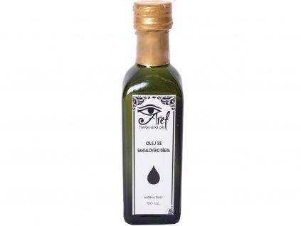 Olej ze santalového dřeva upraveny