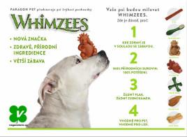 Whimzees žvýkací vegetariánské pamlsky pro psy
