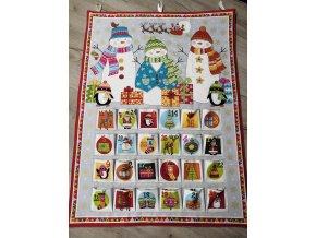 Adventní kalendář Sněhuláci