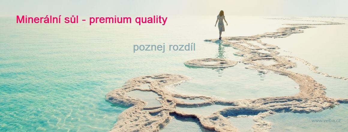 Minerální sůl z Mrtvého moře 5 kg Velba.cz