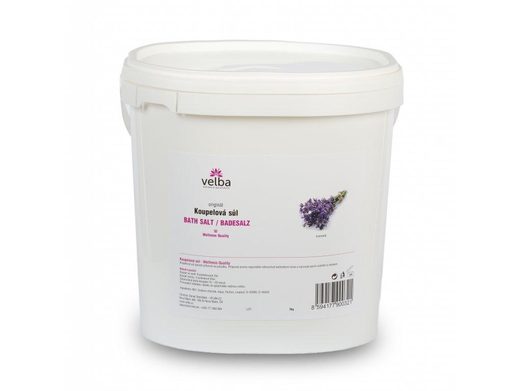 Velba koupelová sůl levandule 5 kg