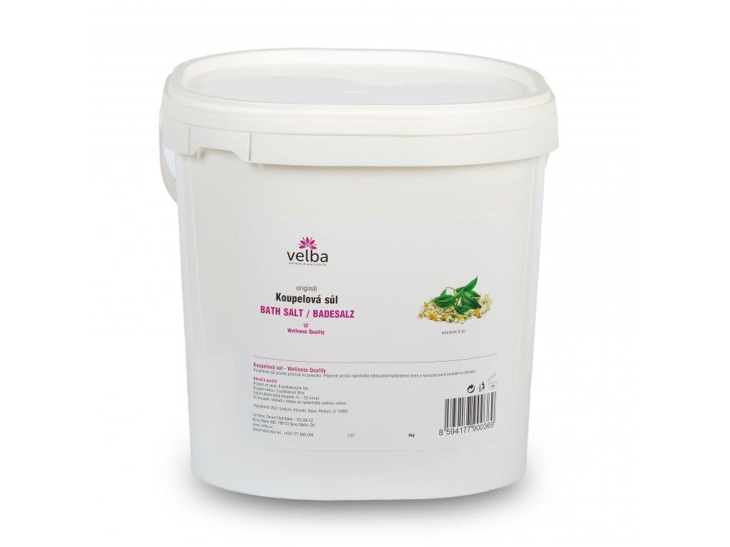 Velba koupelová sůl heřmánek & čaj 5 kg