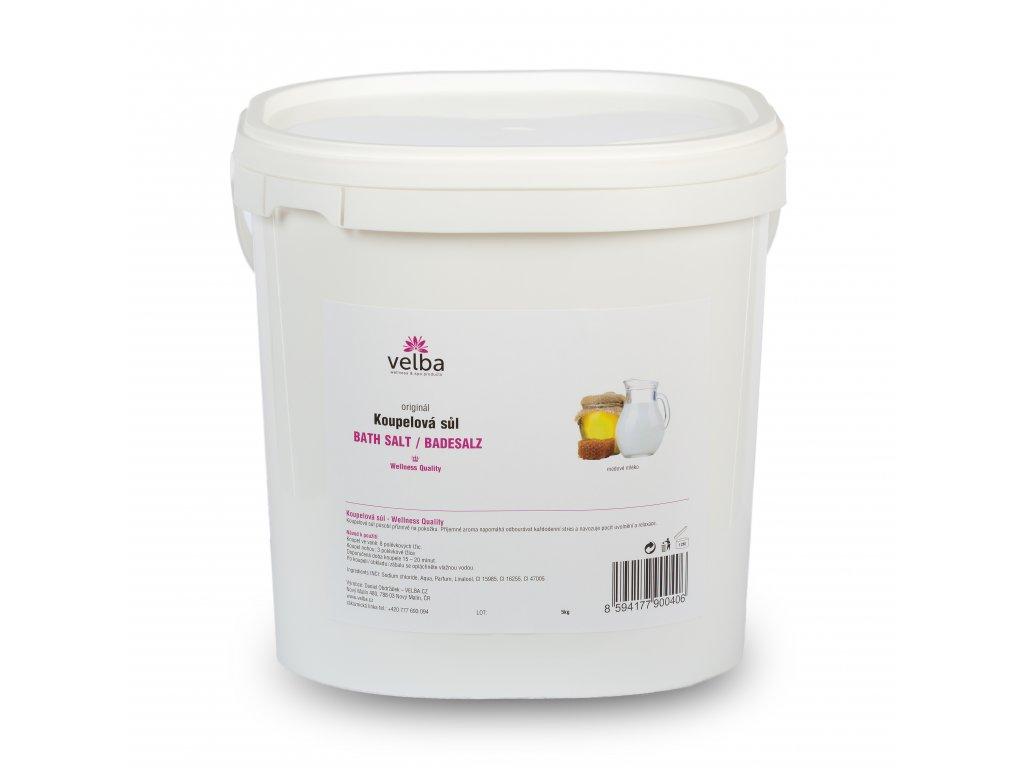 Velba koupelová sůl medové mléko 5 kg