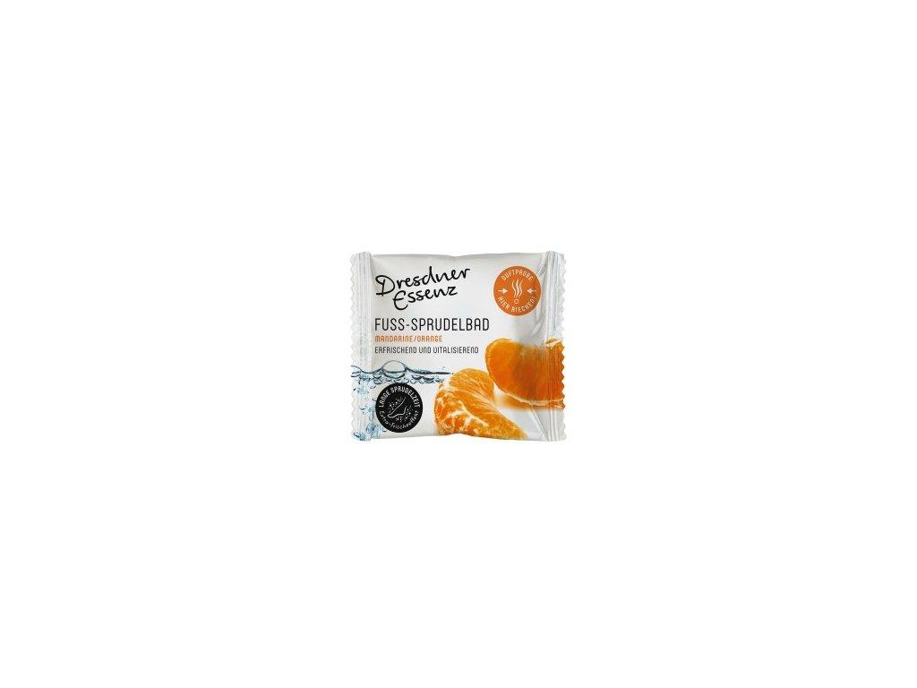 Uhličitá koupel na nohy mandarinka a pomeranč 30 g