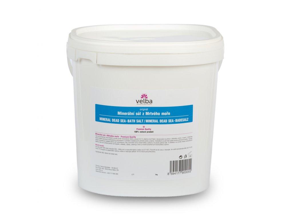 Minerální sůl z Mrtvého moře do koupele 5 kg