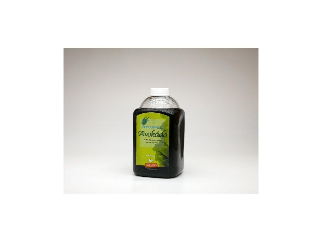 Rašelinová olejová koupel s avokádovým olejem - 500 ml